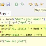 Python: Debugger simplement avec l'IDE Tommy
